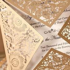 Luxury Where To Buy Tissue Paper For Wedding Invitations And Design Rustic Gold Laser