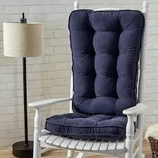 rocking chair cushions walmart kitchen cushions outdoor white