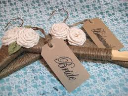 WEDDING DRESS HANGER Rustic Chic Personalized Brides Hanger Name Hangers Custom Gift