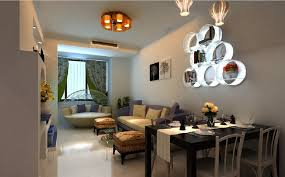 Living Room Ceiling Lighting Small Dining Table Design Rectangle Black Wooden White
