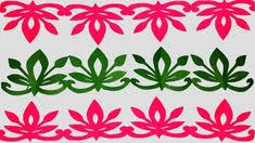 Paper BorderHow To Make Cutting Border Designseasy Crafts Flower Step