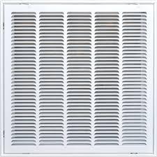 speedi grille 20 in x 20 in return air vent filter grille white