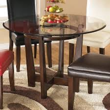 signature design by ashley charrell round dining table walmart com