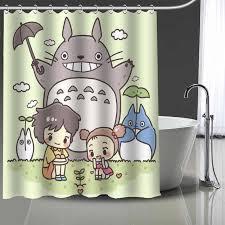 nach tonari no totoro gedruckt dusche vorhang badezimmer