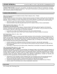 Correctional Sergeant Cover Letter Examples Of Department Corrections Letters Dean Printable