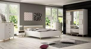 möbel set alta 4 für schlafzimmer doppelbett 160x200 cm mit 2 nachttischen 2 kommoden und kleiderschrank skandinavisches design
