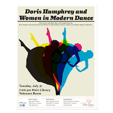 Advertising A Lecture And Presentation About Modern Dance