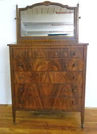 via bklyn contessa antique federal style flame mahogany dresser