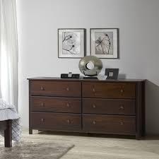 buy sauder beginnings 3 drawer dresser cinnamon cherry finish in