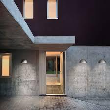 Exterior Galvanised Wall Light Lepus