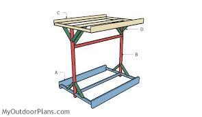 kayak storage rack plans myoutdoorplans free woodworking plans