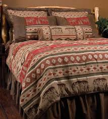 Western Southwest Bedding Set Twin Queen King Rustic Cabin Lodge Adirondack New