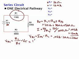 Calculating Voltage Drop Across Resistors