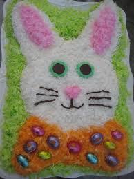 Easter Bunny Cake Recipe Tutorial