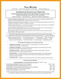 Cto Resume Examples Information Technology Direr Sample Format Pdf