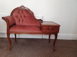 Chaise Longue Telephone Bench Table Bed End H In PR1 Preston For ...