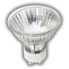 50 watts mr16 gu10 base ext spot halogen light bulb with lens