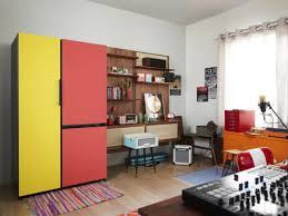 samsung bespoke wenn kühlschränke im wohnzimmer wohnen