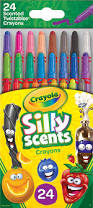 Crayola Bathtub Crayons 18 Vibrant Colors by Amazon Com Crayola 24 Ct Silly Scents Mini Twistables Scented