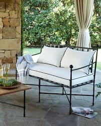 Carls Patio Furniture South Florida by Avery Neoclassical Outdoor Bench Bench Outdoor Living And Iron