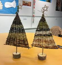 Driftwood Christmas Trees Cornwall by Christmas Tree Made At A Ways With Willow Crafts For Christmas