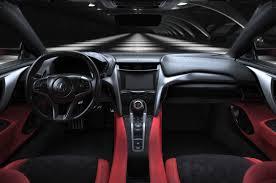2016 acura nsx interior front Acura NSX Pinterest