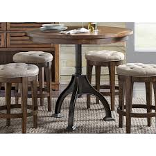 Arlington House Cobblestone Brown 5-piece Gathering Table Set Modern Rustic 5piece Counter Height Ding Set Table With Storage Shelves Arlington House Trestle With 2 Upholstered Host Chairs Side And Bench Slat Back All Noble Patio Round Wicker Outdoor Multibrown Details About Delacora Webd48wai 5 Piece Steel Framed Barnwood Conference Room Tables 10 Styles To Choose From Ubiq Imagio Home 3piece Drop Leaf Black Leg 4 Best Spring Brunches Argos Tribeca Oak Two Farmhouse Pine Action Charcoal Liberty Fniture Industries Spindle Chair Of