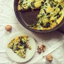 recettes de cuisine avec le vert du poireau omelette épinards poireaux oignons nouveaux végémiam la