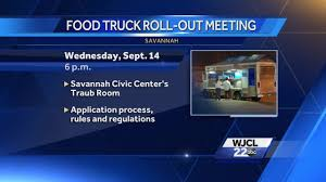 City Of Savannah To Host Public Meeting On Food Trucks Virginia Beach Food Truck Rules Still Not Ready To Roll Planning Commission Delays Decision On Food Truck Rules Sarasota Sycamore Updating Regulations Chronicle Media Ordinance No 201855 An Ordinance Regulating Food Truck Locations Trucks In Atlantic City Ppt Download Freedom Bill Loosens For Vendors Street And Regulations Truckers Should Know About Will La Change Parking Trucks Observed Kcrw Illt Tracking With Bill Track50 Pdf Who Is Serving Us Safety Compliance Among Brazilian