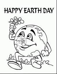 Unbelievable Earth Day Coloring Pages With And Kindergarten