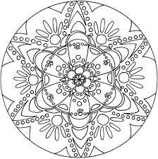 Free Coloring Page Snowflake Mandala Pages For Snowflakes