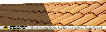 concrete tile roof lifespan right way roofing inc