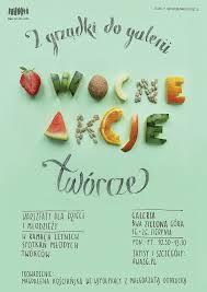 Fruitful Actions Workshops Poster Fruits Vege Food Letters Type
