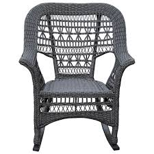 Wicker Rocking Chair, Grey | At Home Wicker Rocking Chair Grey At Home Windsor Black Rocker And End Table Set With Patio Resin Steel Frame Outdoor Porch Noble House Harmony With White 3pc Cushion Good Looking Glider Big Plans Sw Chairs Lounge Dark Brown Amazoncom Cloud Mountain 3 Piece Bistro Decorating Rockers Gliders Coral Coast Casco Bay
