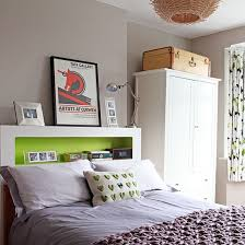 Great Bedhead For Smaller Rooms And No Space Bedside Tables