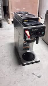 Used Bunn CWTF15 1L 2U 3 Burner Coffee Brewer For Decanters