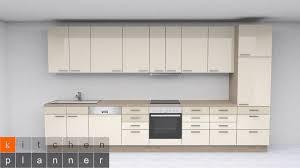 moderne küchenzeile brügge kieselgrau hochglanz mit e geräten