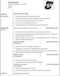 Resume Template Word Professional Letter