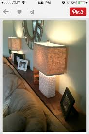 instead of end tables for sectionals living room pinterest