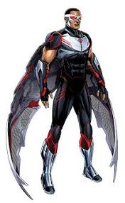 Marvel Captain America The Winter Soldier Concept Art FalconBack JN 1400x950