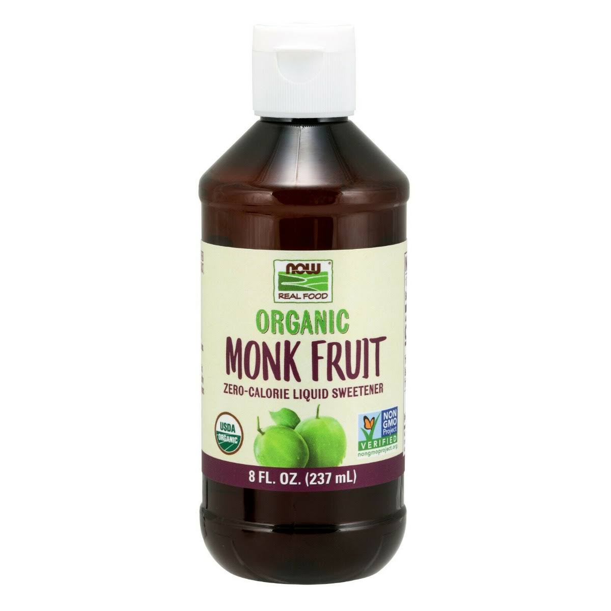 Now Foods, Organic Liquid Monk Fruit, 8 fl oz