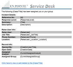 Landesk Service Desk Web Services by Landesk Service Desk Outbound Mail Notifications En Pointe