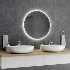 détails sur delhi quelque miroir de salle avec éclairage miroir mural salle de bains miroir 70 cm a01 afficher le titre d origine
