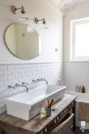double faucet trough sink for kids bathroom picmia