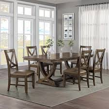 Lakemont 7-piece Dining Set Hot Item Whosale Antique Style Oak Wood Rattan Cross Back Chair X Ding Chairs Knoxville Fniture Buy Kitchen Room Sets Online At Overstock Our Minimalist Wooden Manufacturers Louis Table With Ding Table Set 24x38 Rectangle And 4pcs Chair Outdoor Indoor Dning Room Fniture Rattan Design Sunrise 24 X38 Direct Wicker 6 Seat Rectangular Gas Fire Pit With Eton 1 Box Carton 16 Cheap Websites Usaukchicanada Black Round Marble Dh1424 Tableitalian Table120cm Top