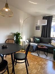 kleines wohnzimmer mit essbereich einrichten westwing