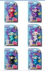 Image Is Loading FINGERLINGS Fingerling Interactive Pet Baby Monkeys Toy Gift