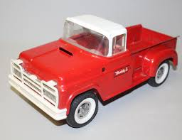 Bargain John's Antiques   Buddy L Metal Red & White Pickup Toy Truck ... Kinsmart 1955 Chevrolet Stepside Pickup W Flames 132 Diecast Toy Dodge Ram Camper Black 5503d 146 Scale Kirpalanis Nv Truck Vehicles Toys Pamaribo Free Shipping New Ford F150 Raptor Truck Alloy Car Toy Motormax 1992 Chevy 454ss 1 24 Scale Metal 5100 Off Road Orange 124 Pull Back Splatter Mini Party City Eco Friendly Pick Up Is Made From Bamboo Rockstar Energy Monster By Malibu Youtube Amazoncom Yellow Pickup Die Cast Colctible
