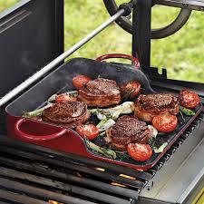 barbecue a la plancha la plancha cast iron griddle the green
