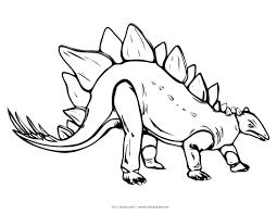 Free Printable Dinosaur Ankylosaurus Stegosaurus Coloring Pages